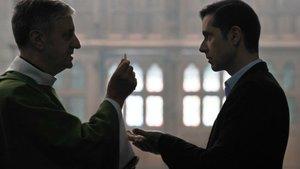 Un fotograma de la película Gracias a Dios, dirigida por François Ozon.