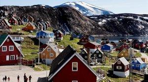 La localidad de Upernavik, en Groenlandia.