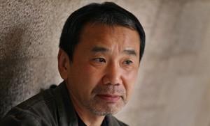 Haruki Murakami, el año 2011 en el Palau de la Generalitat.