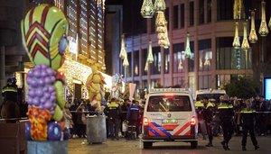 Imagen del lugar donde se ha producido elataque en La Haya.