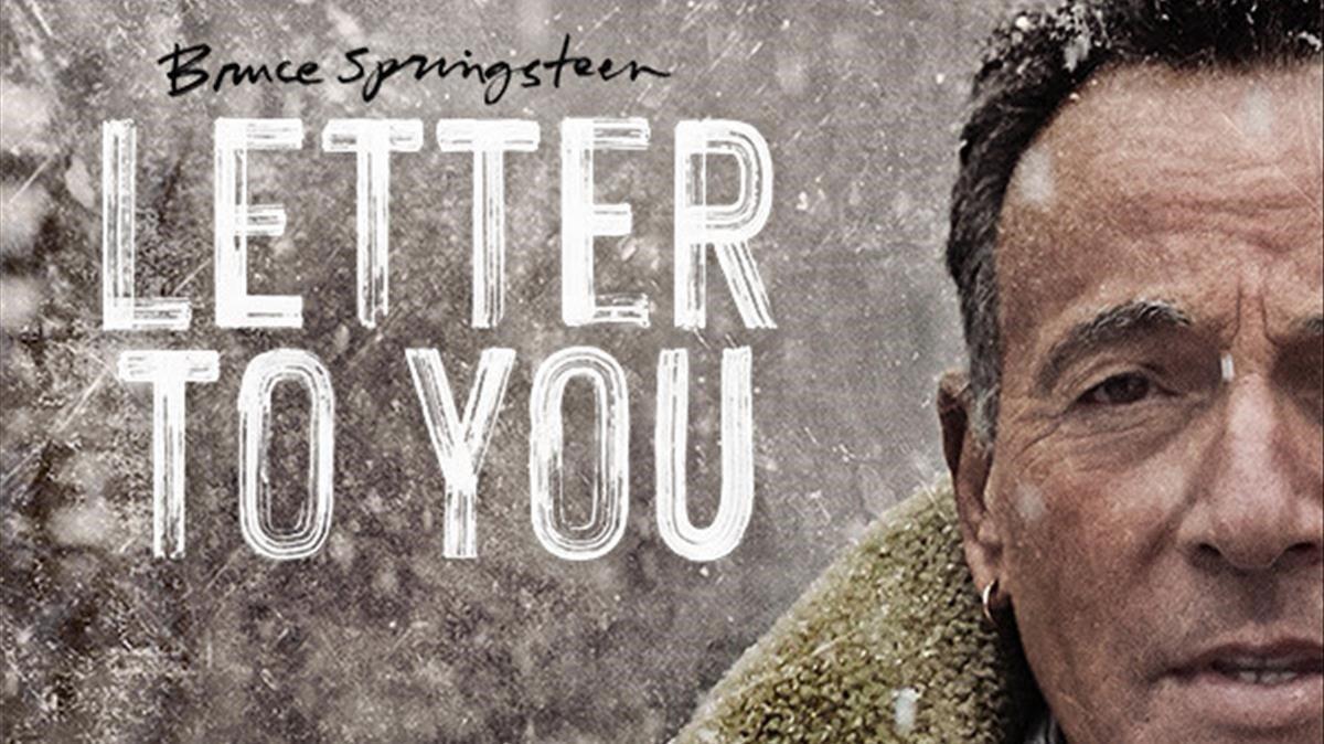 Imagen promocional de 'Letter to you' de Bruce Springsteen