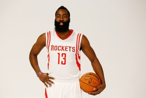 James Harden, el barbut més famós de la NBA.