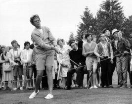 La leyenda del golf femenino Mickey Wright, en 1967.