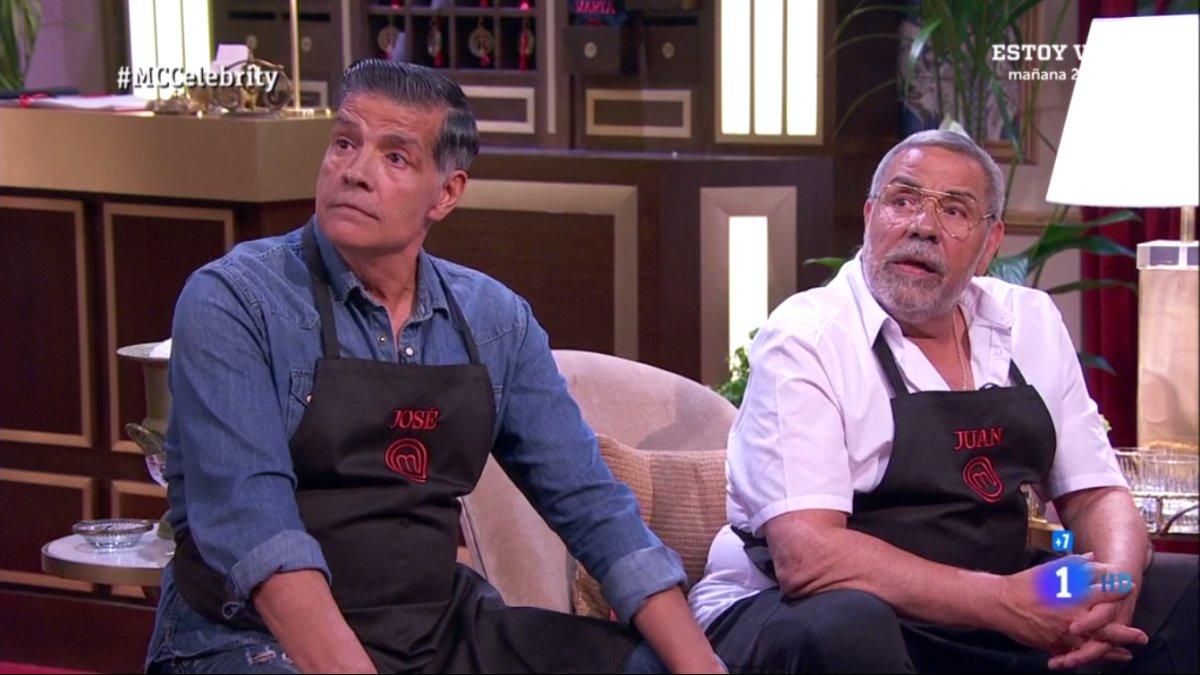 Los Chunguitos en su despedida en las cocinas de 'Masterchef Celebrity 4'.