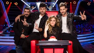Los coaches de la primera edición de La voz senior en Antena 3.