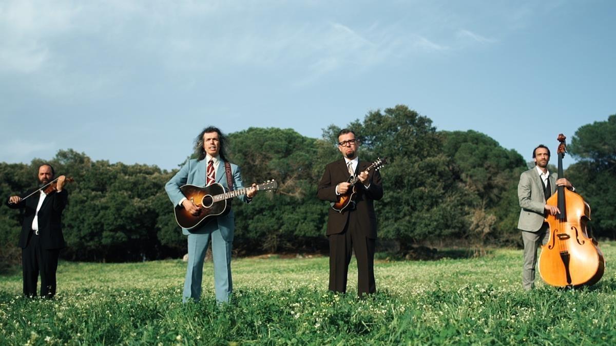 Los Hermanos Cubero, en una imagen promocional