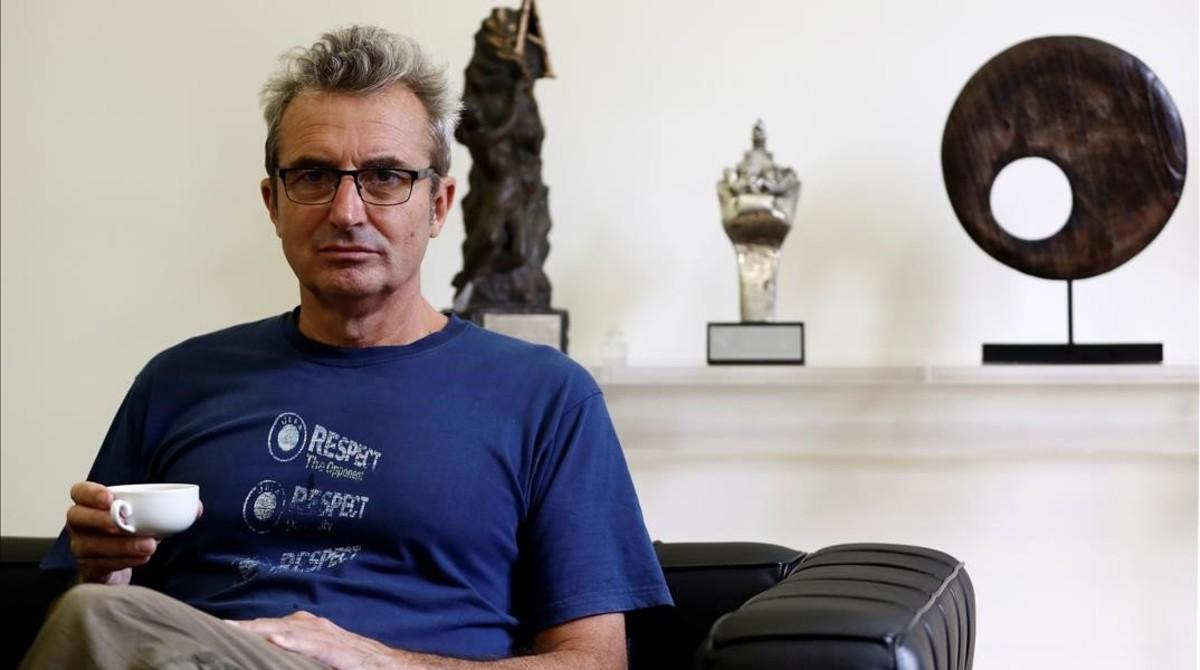Mariano Barroso, director de cine y series de televisión y actual presidente de la Academia del Cine.