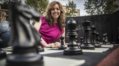 """Marta Amigó: """"El ajedrez refuerza la lengua, las matemáticas y los valores"""""""