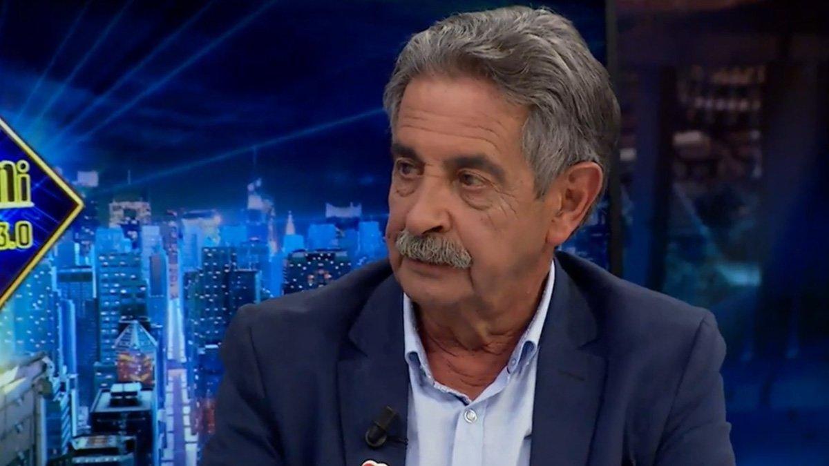 Miguel Ángel Revilla se disculpa en 'El hormiguero' por un comentario que hizo en su anterior visita