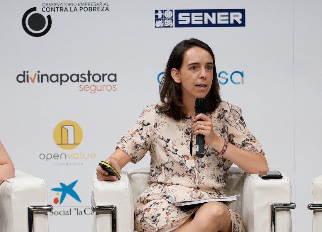 Mónica Gil-Casares, del Observatorio Empresarial contra la Pobreza