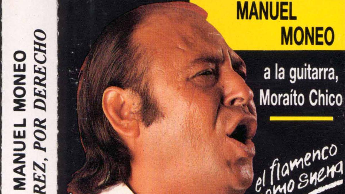 Imagen de un cassette de Manuel Moneo, cantaor que ha fallecido este martes
