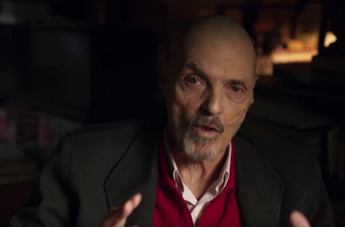 Juan Ignacio Blanco en una de sus apariciones en el documental sobre el 'Caso Alàsser'de Netflix