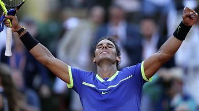 Nadal desarbola a Thiem y buscará ante Wawrinka el décimo título en París