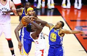 Finales de la NBA,Warriors de Golden State en contra de loslos Raptors de Toronto. AFP