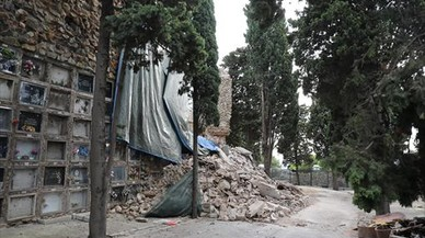 Vidas de los derrumbados de Montjuïc