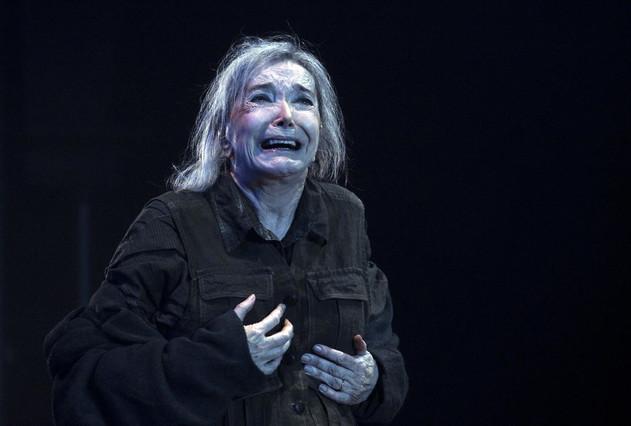 Núria Espert, premiada con un Premi Butaca como mejor actriz por El rei Lear.