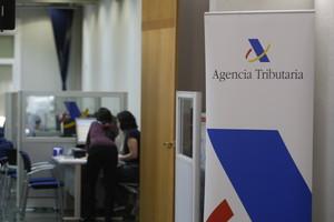 Oficina de la Agencia Tributaria en Barcelona.