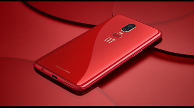 Llega la versión roja del OnePlus 6