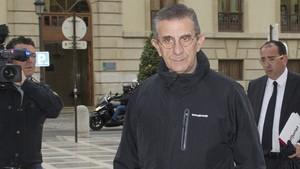 El padre Román, en una imagen de marzo de este año.