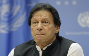 Imran Khan,primer ministro de Pakistán.