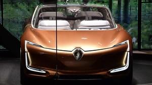 Prototipo de coche eléctrico y autónomo Symbioz en el Salón del Automóvil de Fráncfort.