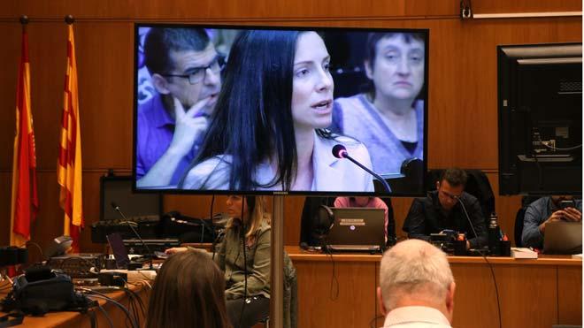Rosa Peral durante la sesión del juicio del 'crimen de la Urbana'.