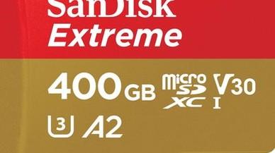 SanDisK presenta una tarjeta microSD de 400 gigas