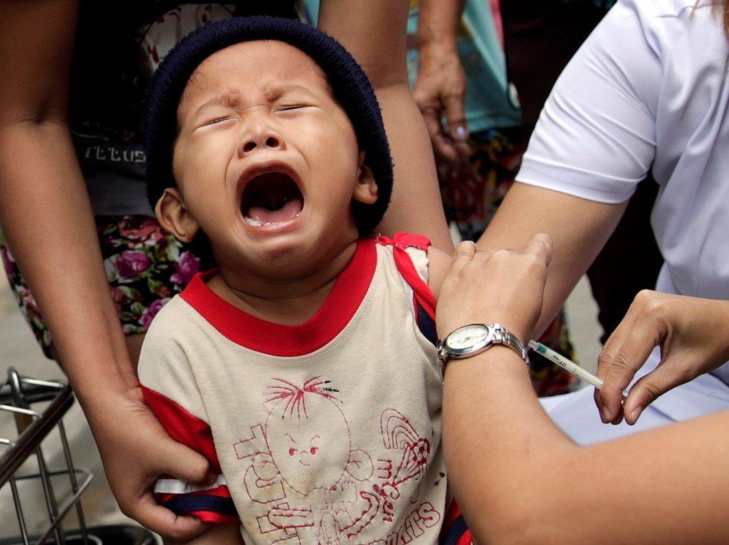 La mayoría de las víctimas son niños sin vacunar.