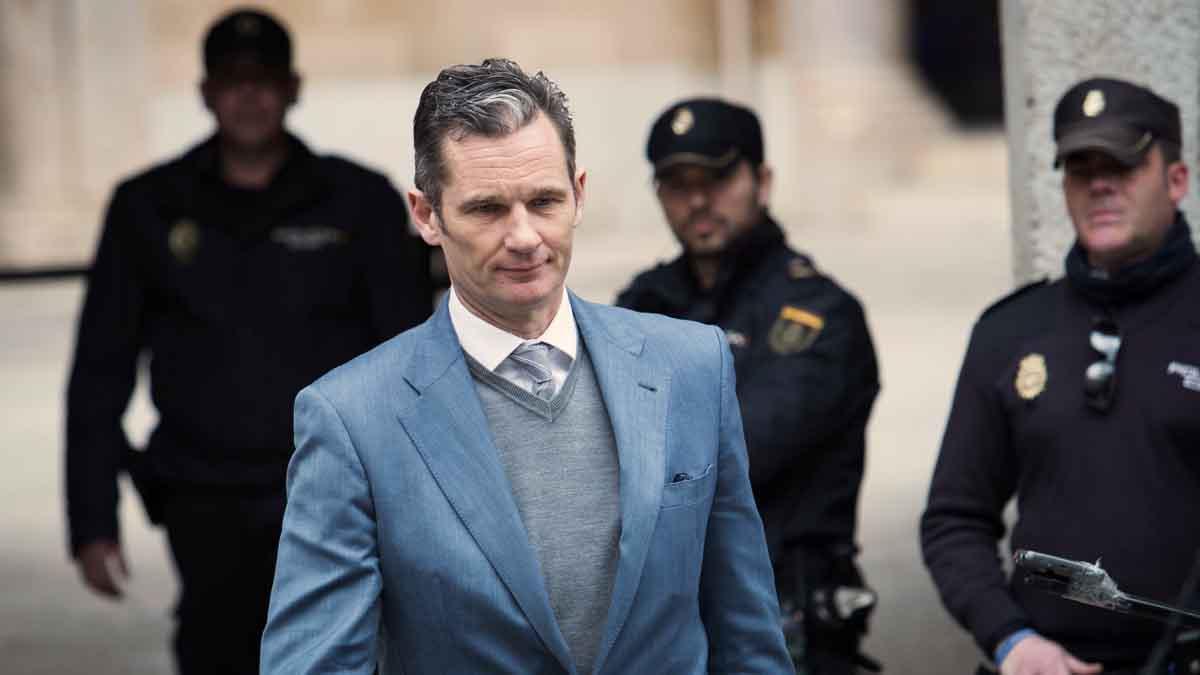 La sentencia del Supremo coloca a Urdangarín a las puertas de la cárcel.