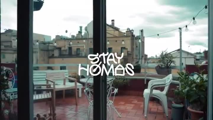 'Stay Homas' muestra su vídeo más reciente.