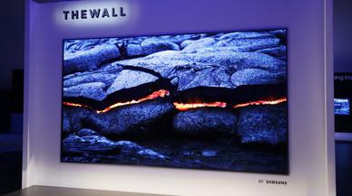 Samsung presenta The Wall, un televisor modular MicroLED de 146 pulgadas