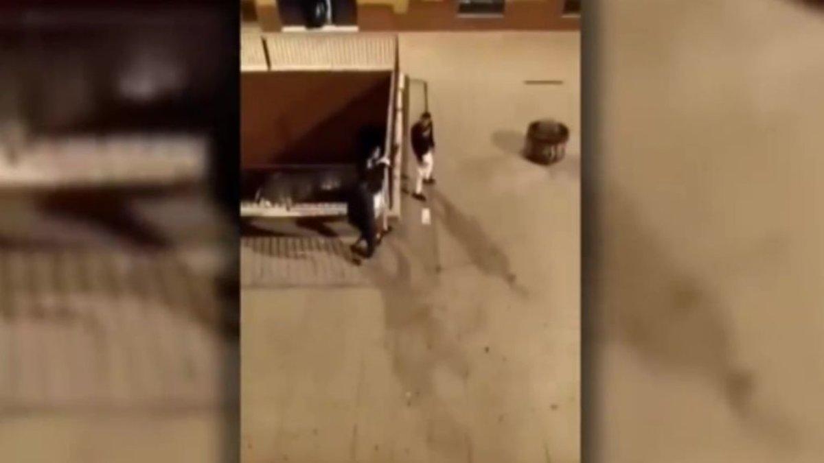 Los dos implicados en el tiroteo del barrio ceutí del Príncipe durante la pelea.