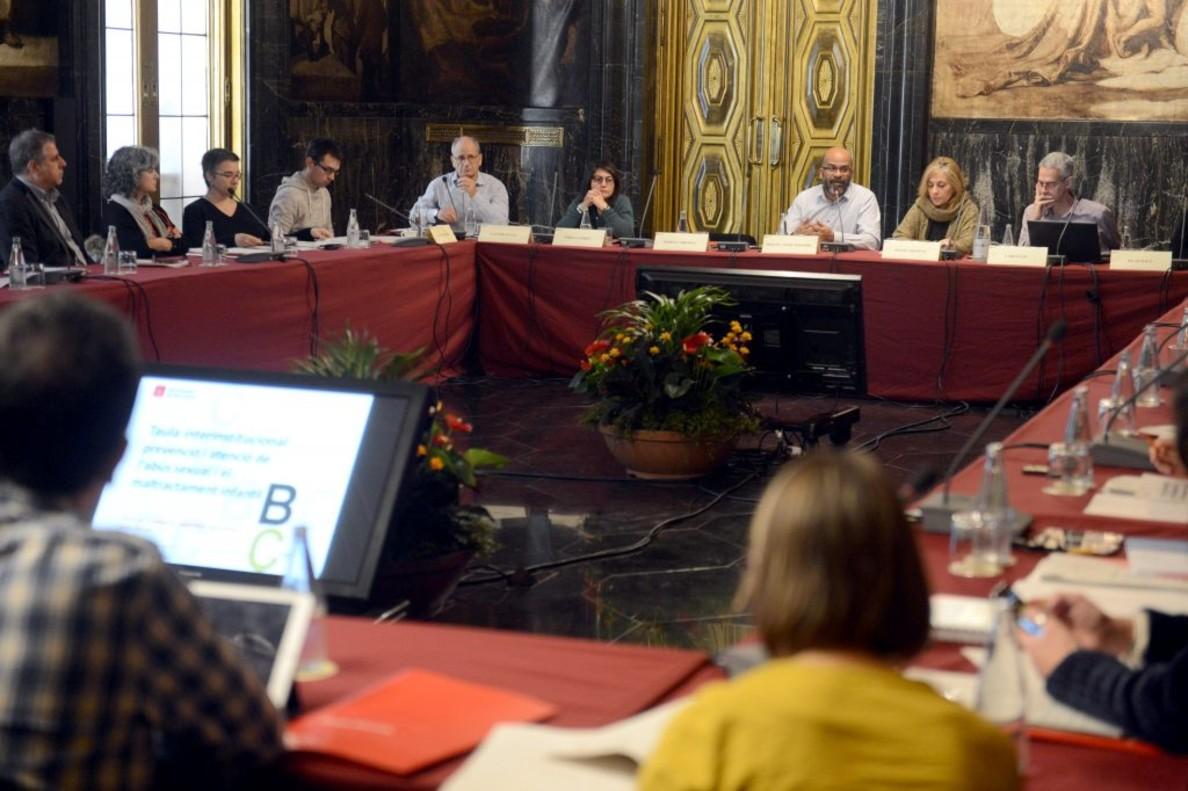 Reunión de la Mesa para la Prevención y la Atención del Abuso Sexual y el Maltrato Infantil.