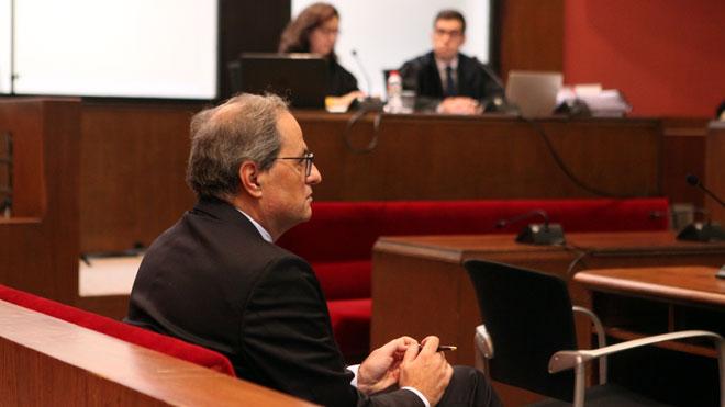 Torra admite que no cumplió la orden de la JEC: Sí, la desobedecí.