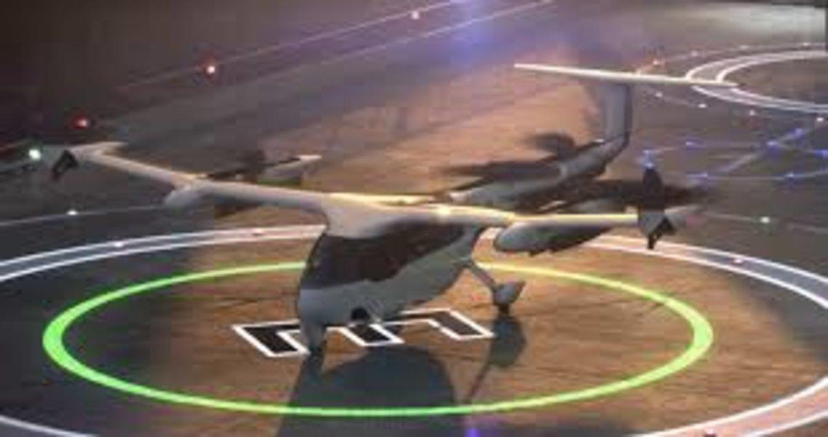 El taxi aéreo de Uber.