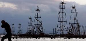 Una imagen, tomada en octubre del 2005, de la plataforma incendiada.