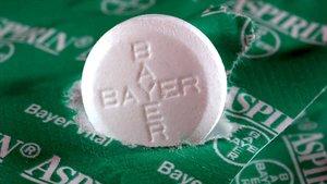 Una pastilla de Aspirina.