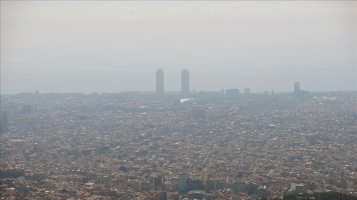 La quarantena per la Covid-19 va permetre que Barcelona respirés millor