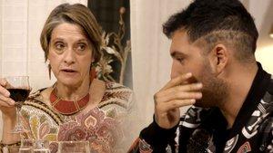 La franquista de la tele provoca les arcades d'Omar Montes a 'Ven a cenar conmigo': «Semblava menjar de gat»