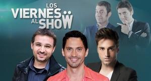 David Bustamante, Paco León y Jordi Évole, invitados en «Los viernes al show»