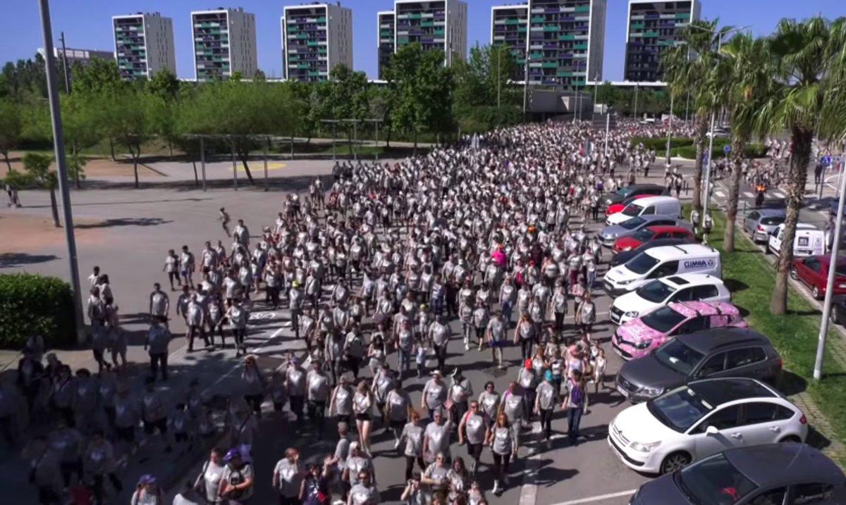 Més de 5.000 persones participen a la 12a Caminada Solidària de Viladecans