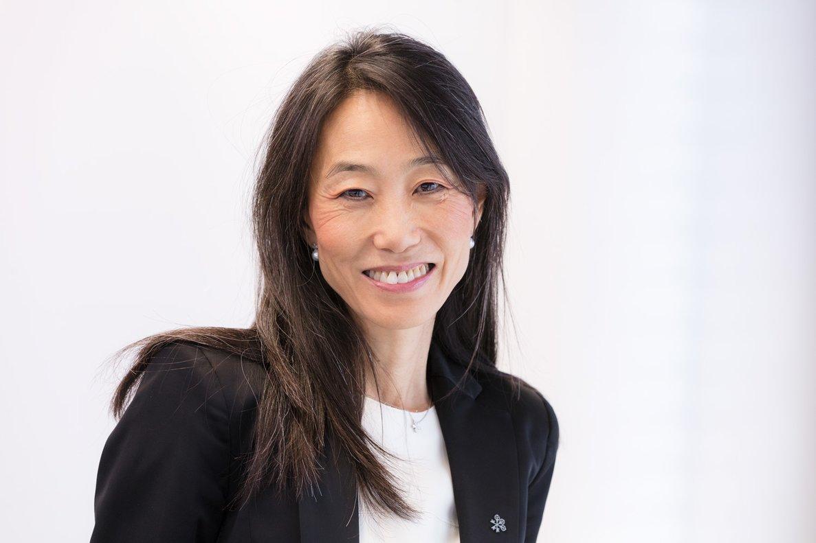 Yuri Lustenberger-Kim es la directora regional de Diversidad e Inclusión del banco suizo UBS.