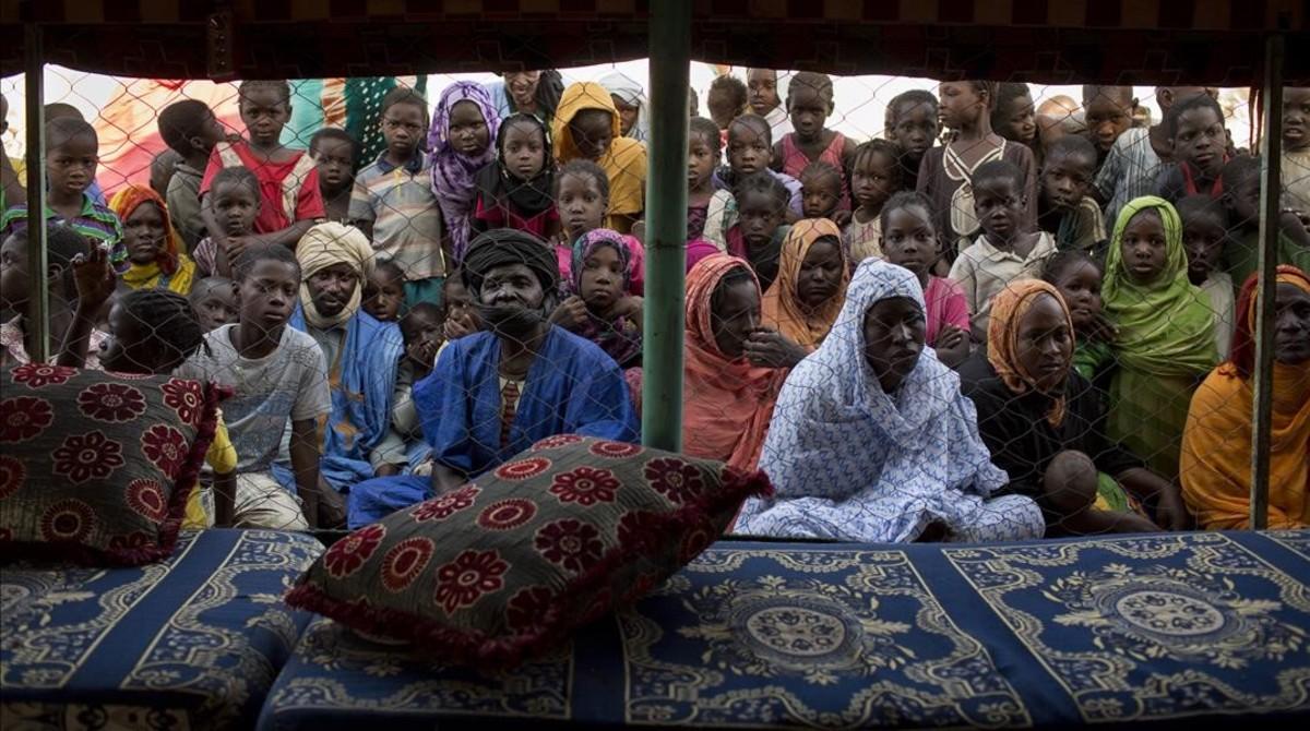 Fotografía tomada en Mauritania en el 2014.