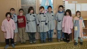 Said Aalla,cuarto por la derecha,cuando estudiaba primaria.