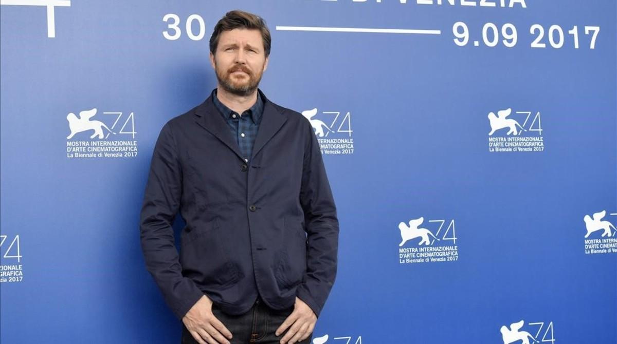Andrew Haigh, en la Mostra de Venecia.