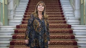 Maria del Mar Bonet, en la presentación del concierto del Liceu.