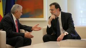 Rajoy, contra Cs i les 'fake news'