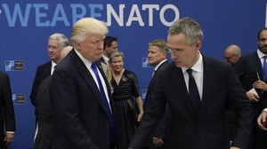Trump dinamita la cimera de l'OTAN