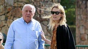 Amancio Ortega, la seva filla i Rafael del Pino, les tres fortunes espanyoles més grans