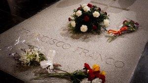 El TC rebutja l'última carta jugada pels Franco per evitar l'exhumació